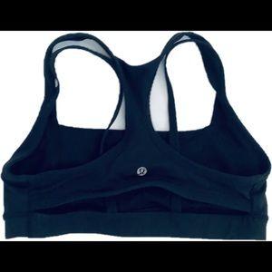 lululemon athletica Other - Lululemon Splendor Black Bra Size 8/10